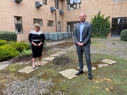 Waste firm to fund courtyard renovation at Telford hospital