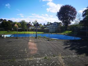 The pool as it stands today