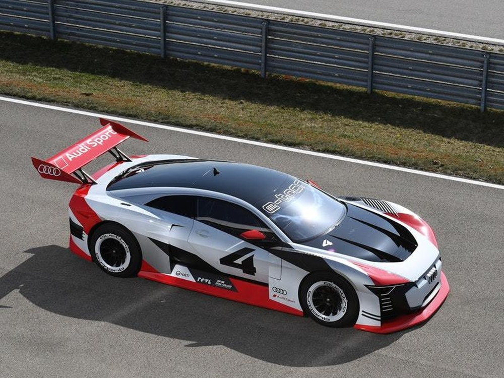 Audi E-Tron Vision Gran Turismo jumps from PlayStation into real life