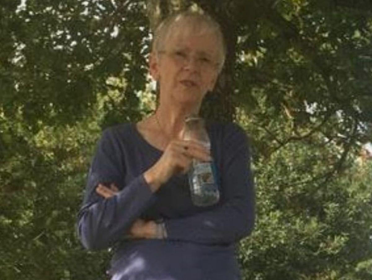 Susan Robdale went missing on Saturday