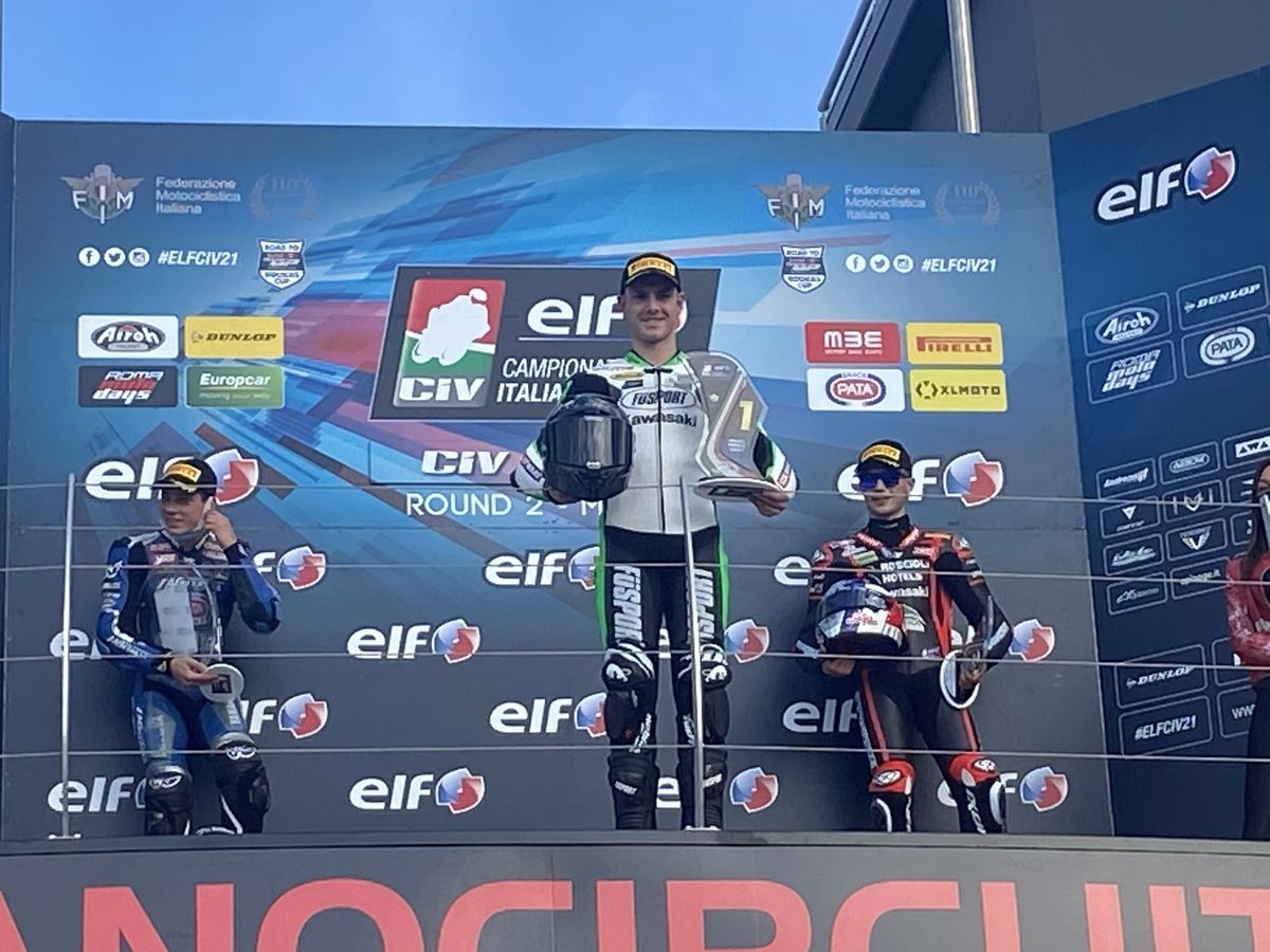 Another win followed in race two for Booth-Amos
