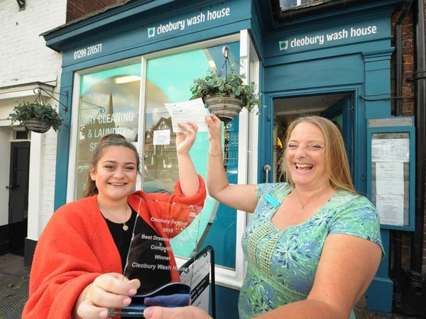 South Shropshire wash house awarded 'best dressed window'