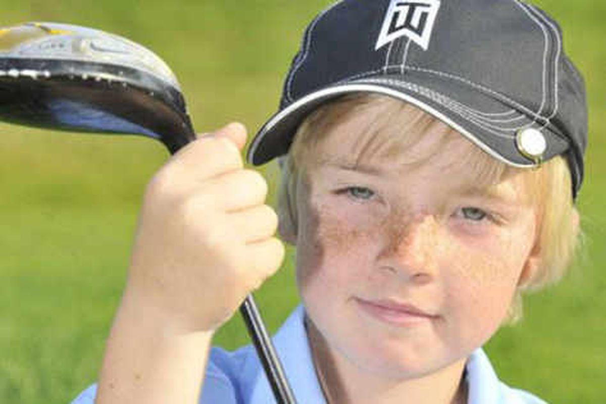 Young golfer Sam is on tee for US championship