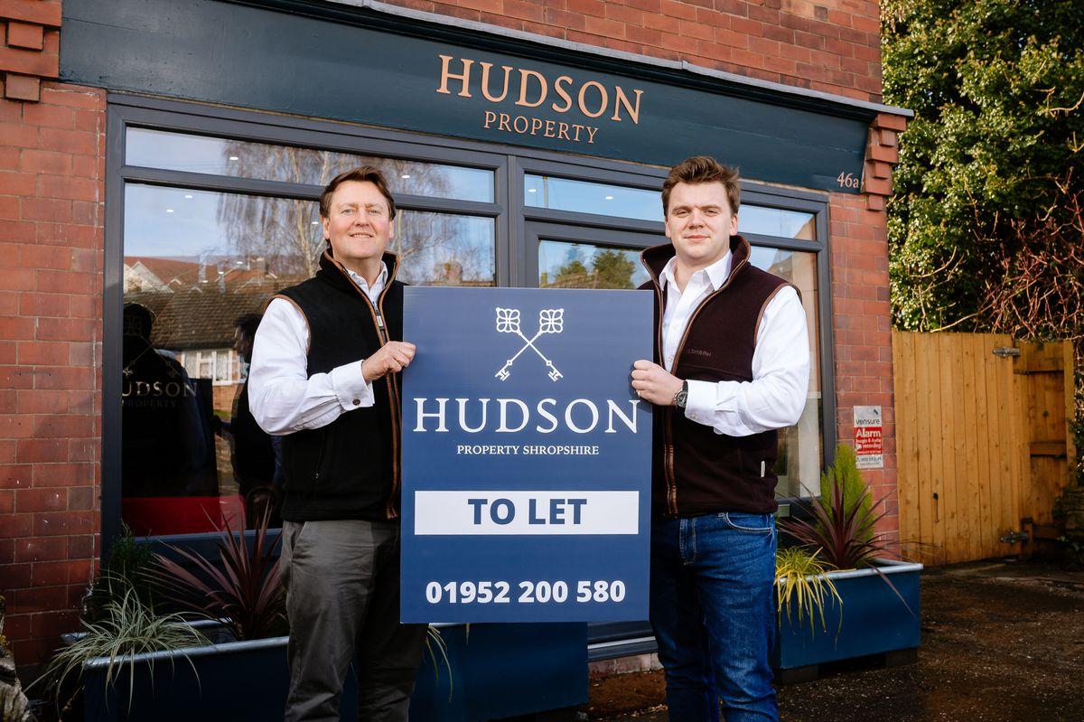 Richard Davies and Ben Nicoll of Wellington-based Hudson Property Shropshire