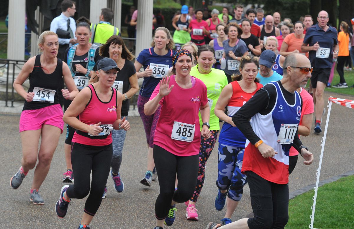 The run started and finished in the Quarry park, which sits between the river and Shrewsbury's town centre