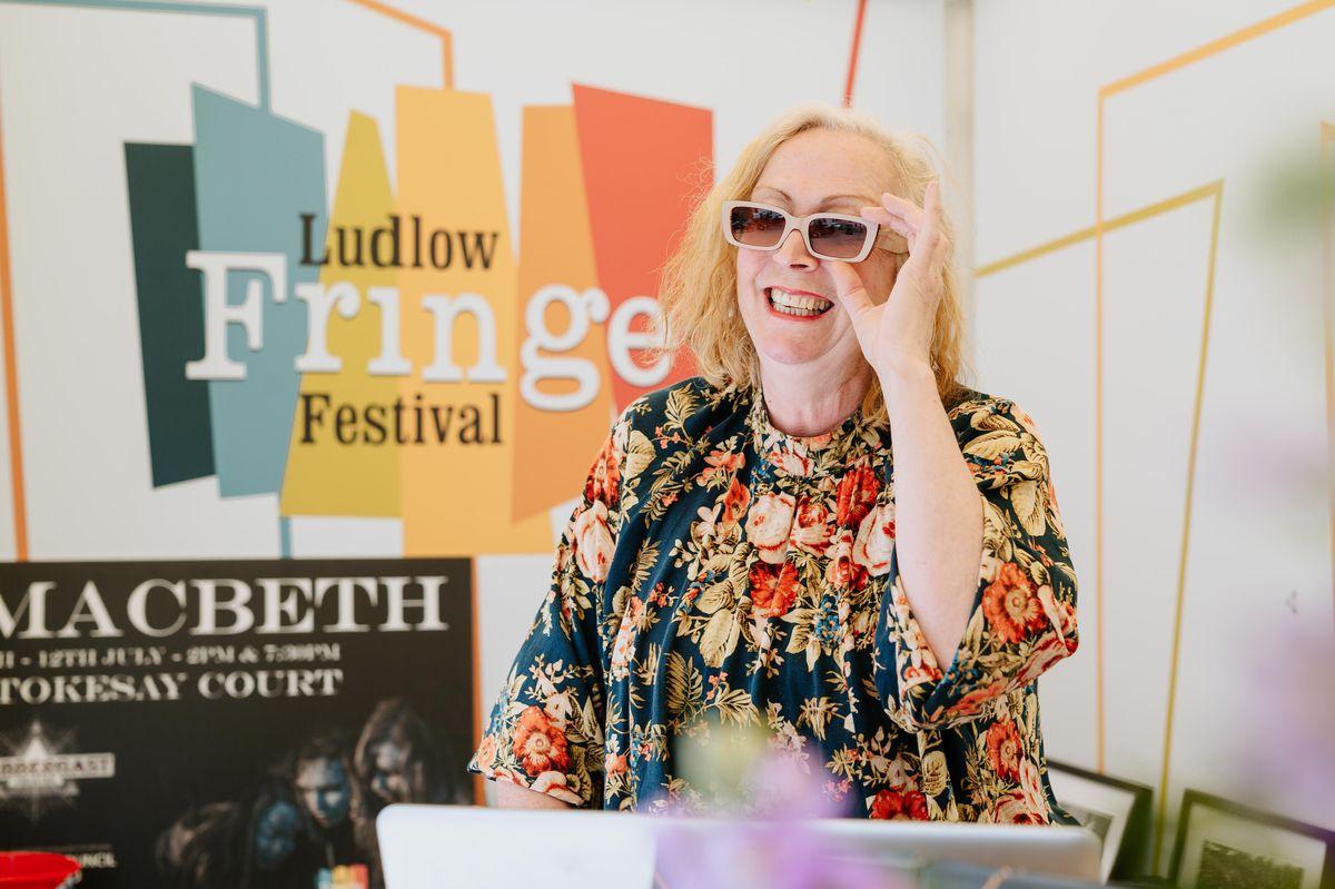 Festival director Anita Bigsby