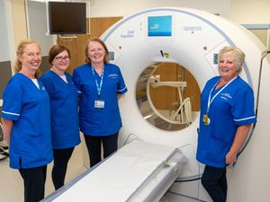 Routine scans are resuming at the Robert Jones and Agnes Hunt Hospital