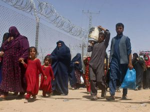 Many Afghans fled the country