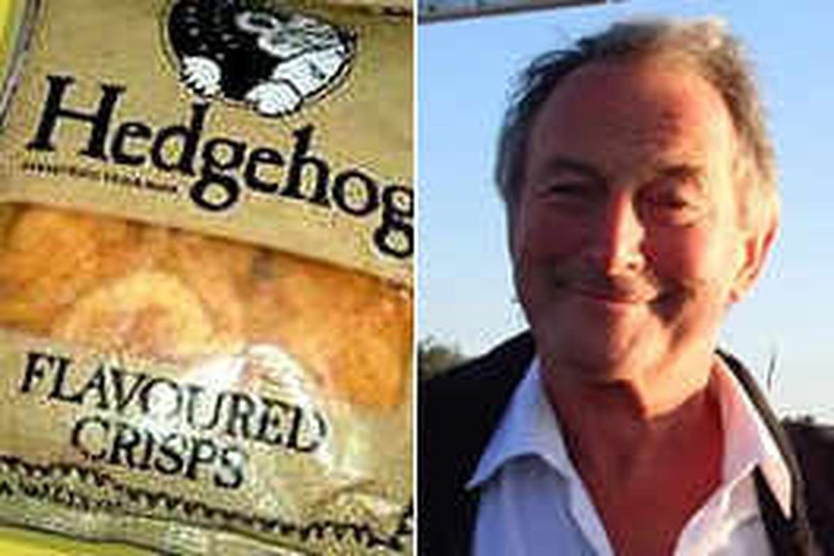 Hedgehog Crisps' Welshpool inventor dies, aged 74