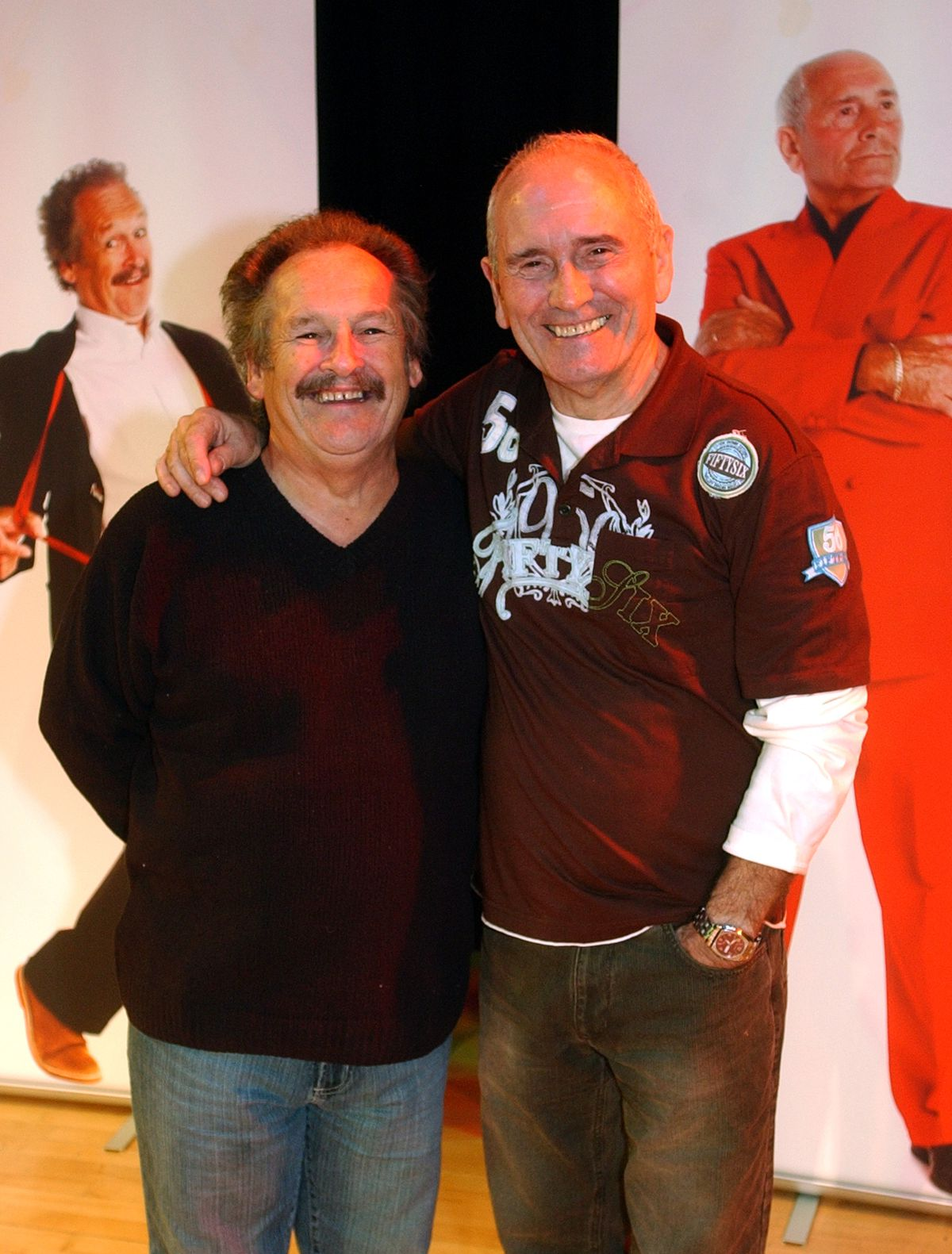 Cannon and Ball at Oakengates Theatre