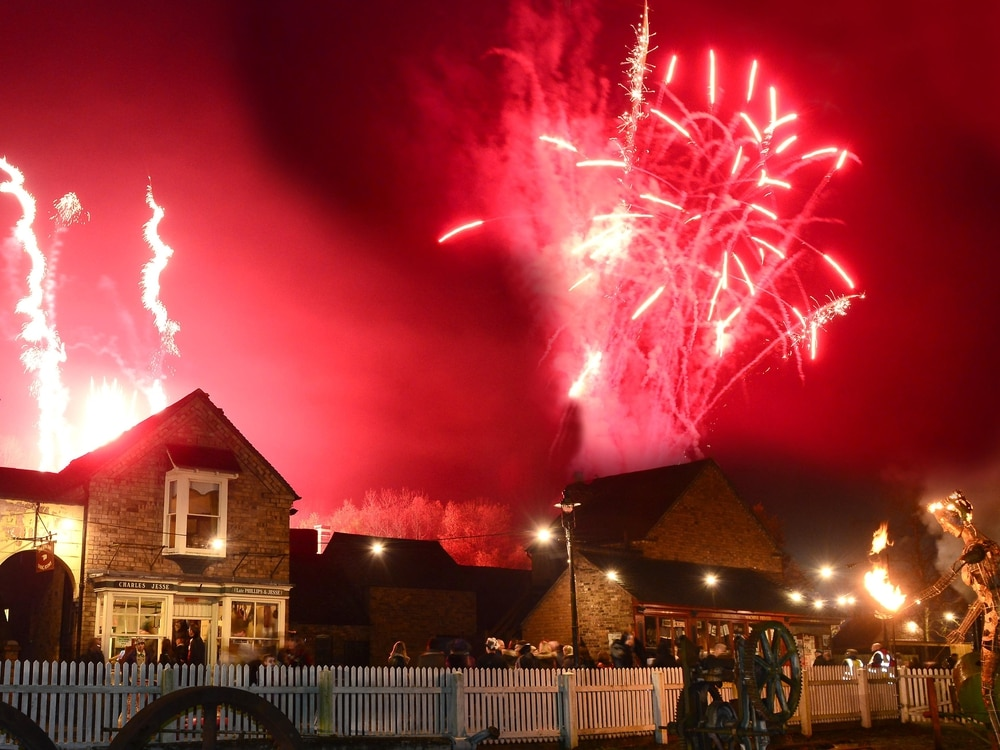 Blists Hill firework display cancelled due to weather forecast