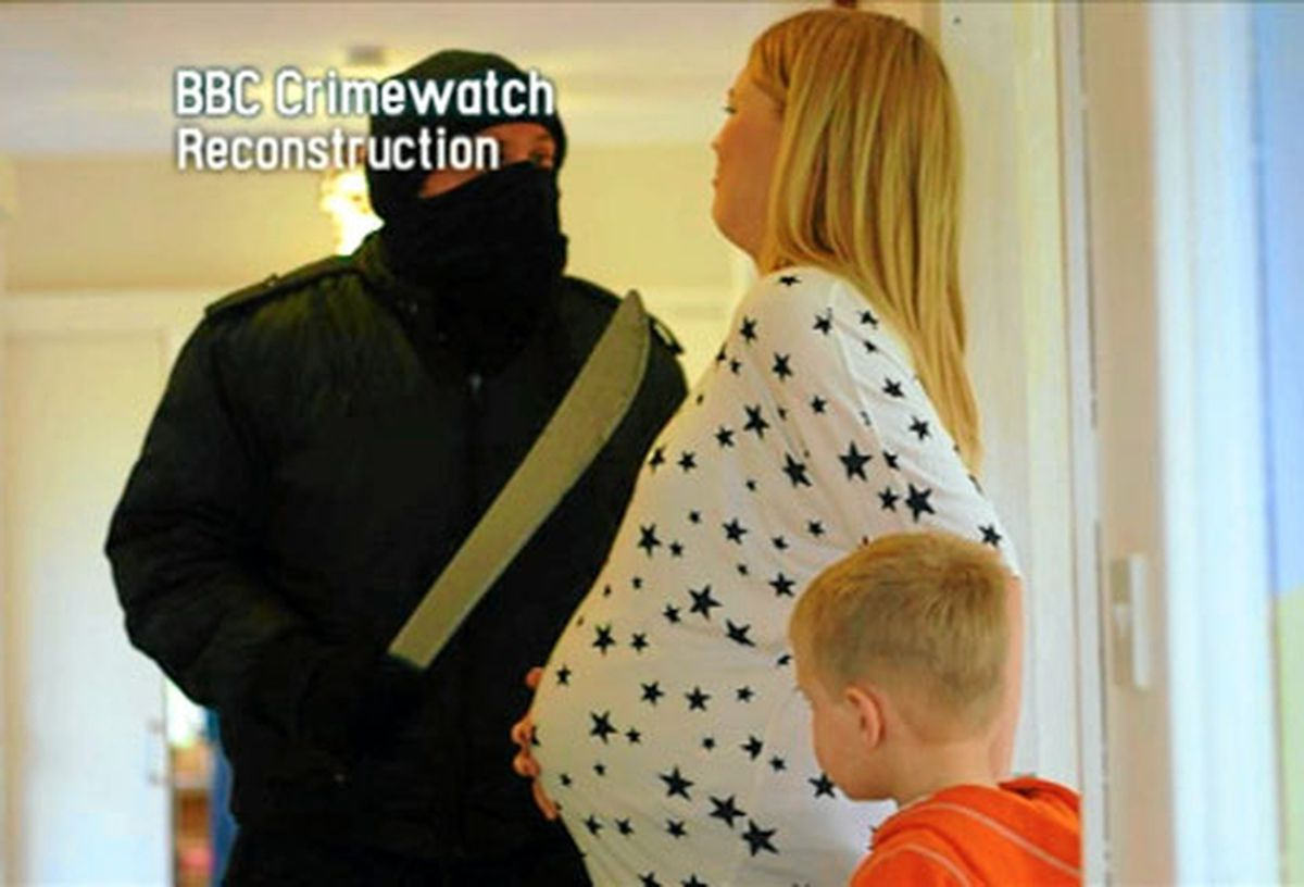 Crimewatch featured a reconstruction of a terrifying machete robbery in Wollerton, near Market Drayton, in 2012
