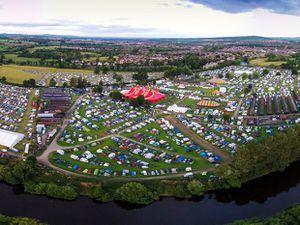 Shrewsbury Folk Festival. Picture: Drone Rangers