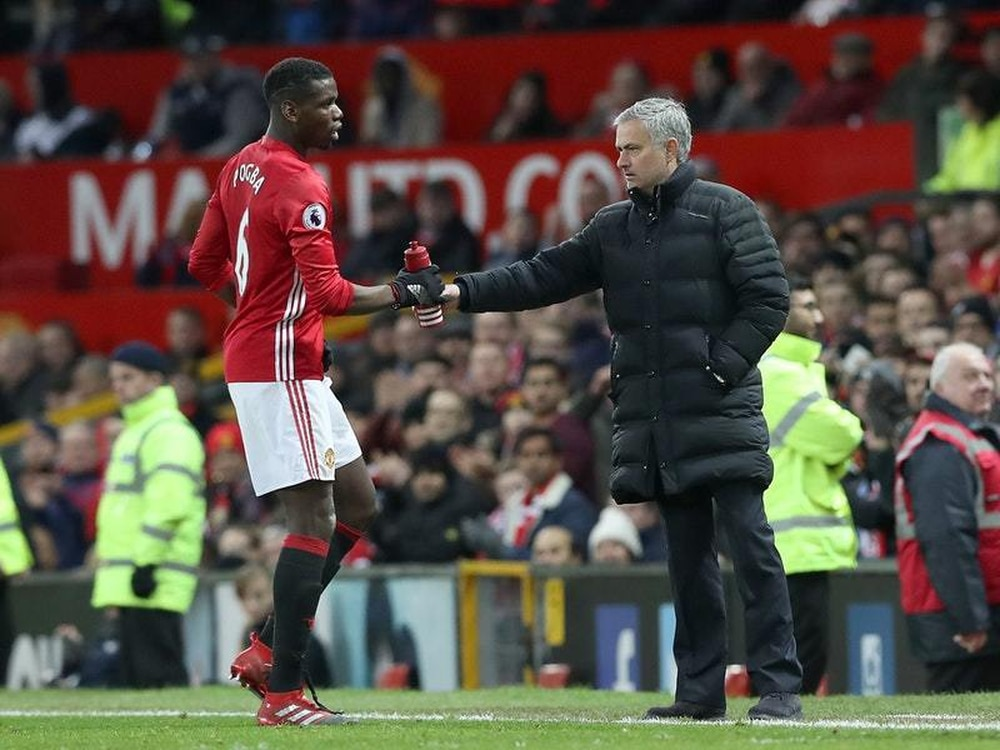 Paul Pogba And Jose Mourinho Have Frosty Meeting At Training
