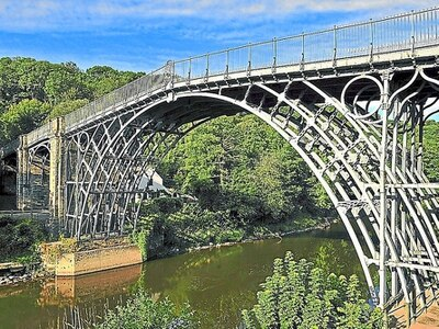 Let there be light! Restored Iron Bridge to open with permanent illumination
