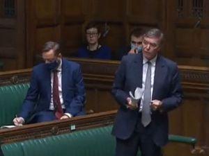 Philip Dunne speaking in Parliament. Pic: UK Parliament