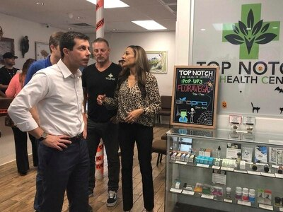 Presidential candidate Pete Buttigieg calls for legalisation of marijuana