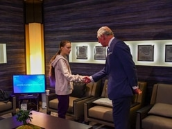 Charles meets Greta Thunberg after warning 'the time to act is now' on climate