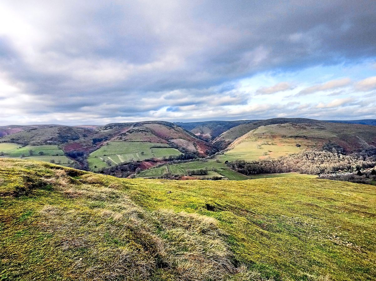 Scott Roberts was at it again with this beautiful shot from atop Ragleth Hill in Church Stretton