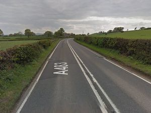 The A483 near to where the accident happened. Photo: Google