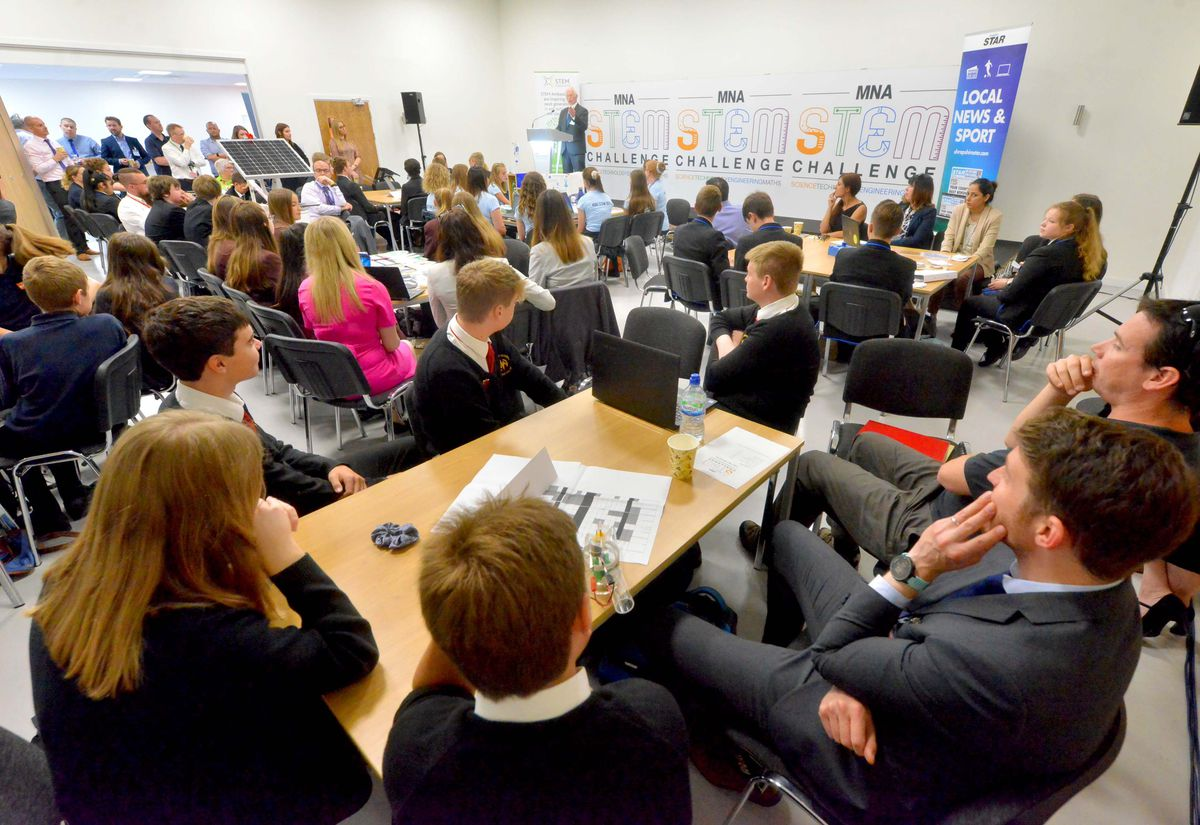 The Shropshire Star STEM event at the Marches Centre of Manufacturing & Technology