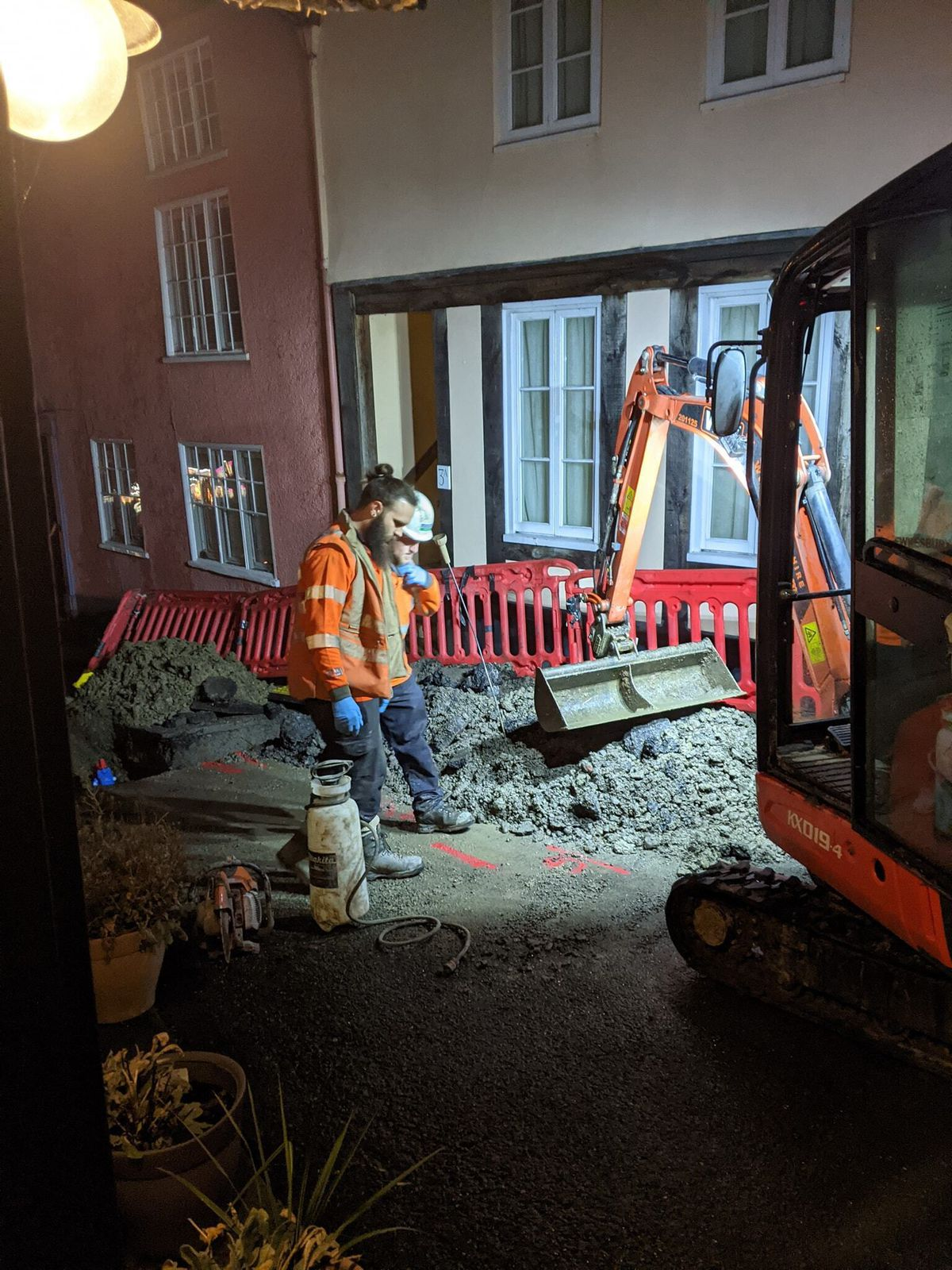 The work in Bishop's Castle. Photo: Keith Wheedon