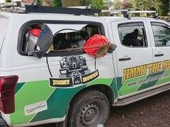 Jimmy The Mower left 'heartbroken' after van raided