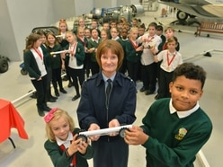 It IS rocket science for pupils on RAF Cosford visit