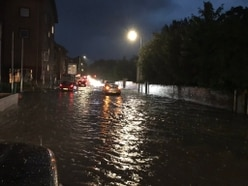 Shropshire ravaged by storms for second day running
