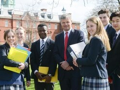 Delight as Shrewsbury School is given excellent rating