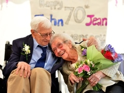 Couple renew their marriage vows after 70 years of living life to the full