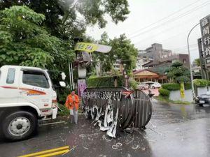 Taiwan earthquake damage
