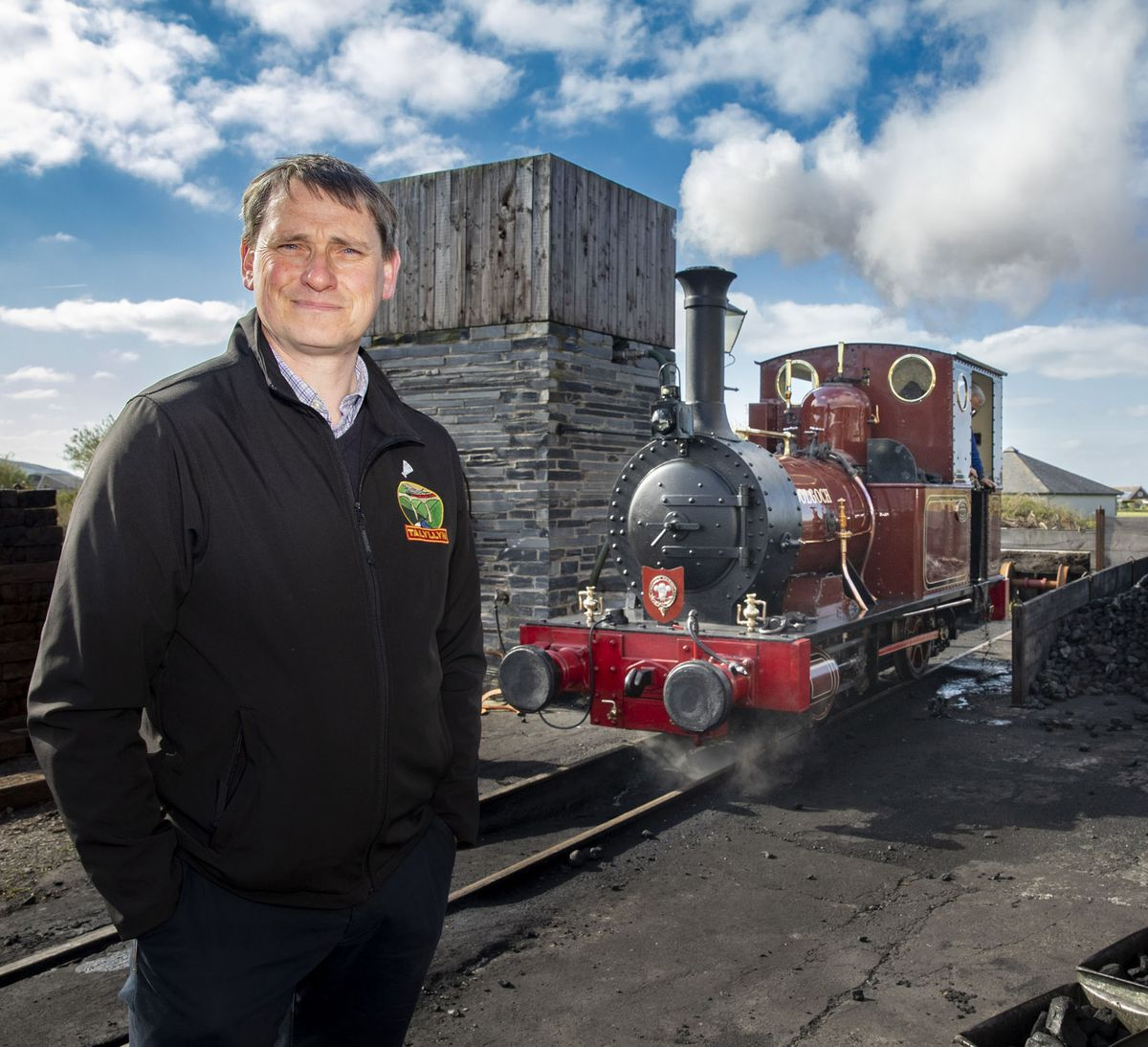 Stuart Williams, General Manager at Talyllyn Railway Picture Mandy Jones