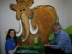 Well-loved mural to receive lick of paint at south Shropshire visitor centre