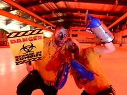 Zombie spook-tacular on ice in Telford