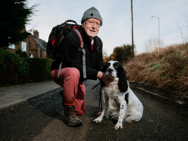 Telford father's long walk to raise £5,000 for Macmillan Cancer Support in memory of sons