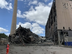 Ironbridge Power Station demolition to take 12 more months - with video