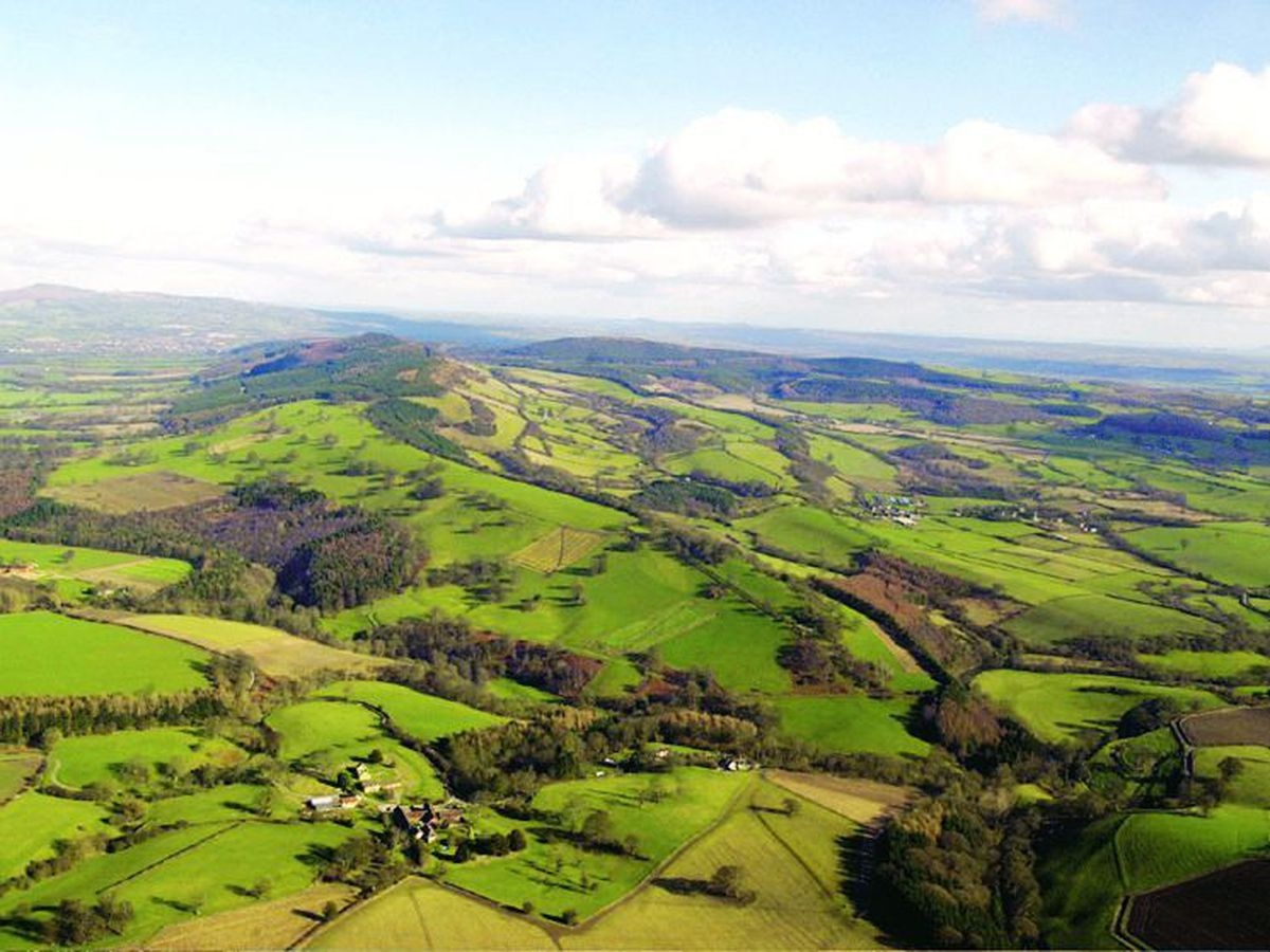 The South Shropshire Hills