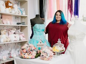 Opulent Occasions, a new wedding shop in Madeley Telford has open its doors just as lockdown has lifted. Owner Nicola Hiller