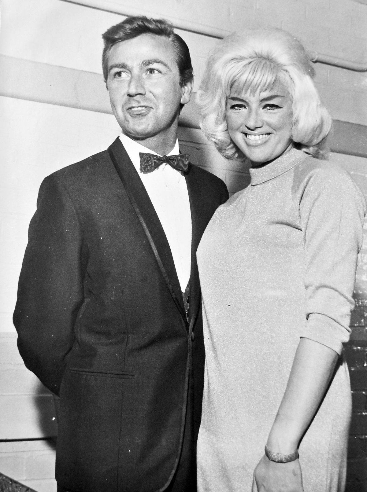 Des and Diana at Hadley, December 12, 1964 – Diana topped the bill but Des outshone her on the night.