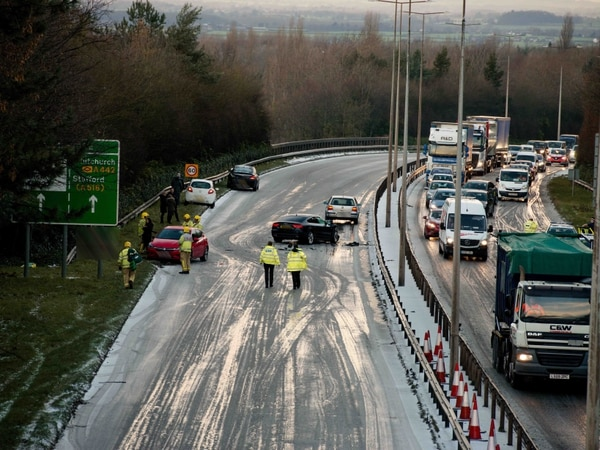 M54 and A442 hit by delays after crashes