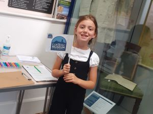 Poppy Williams visited the Buttercross museum in Ludlow
