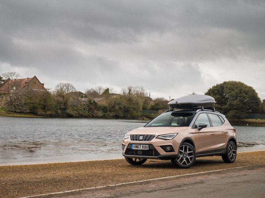 The Seat Arona settles into daily duties