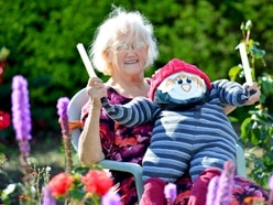 Scarecrow competition for neighbouring villages