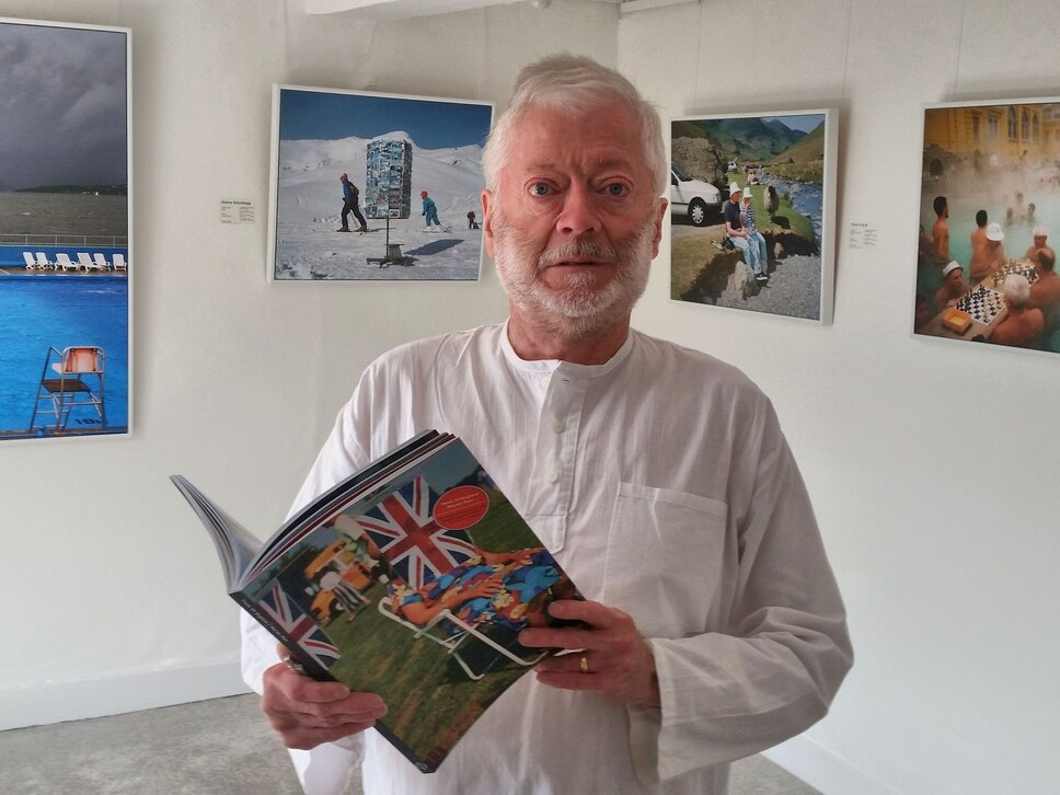 World renowned photographer at Ludlow gallery