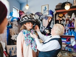 Learn about Victorians' love for purple at Blists Hill