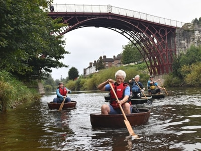 Special 'coracle drift' film as part of Ironbridge Festival of Imagination