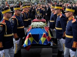 Romanians join European royals for king's state funeral