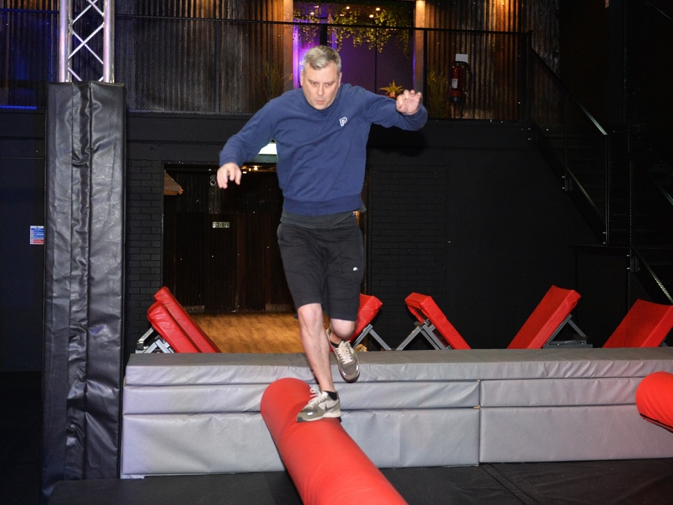 Ninja Warrior UK Adventure, Stoke: Pete gets physical at new assault course