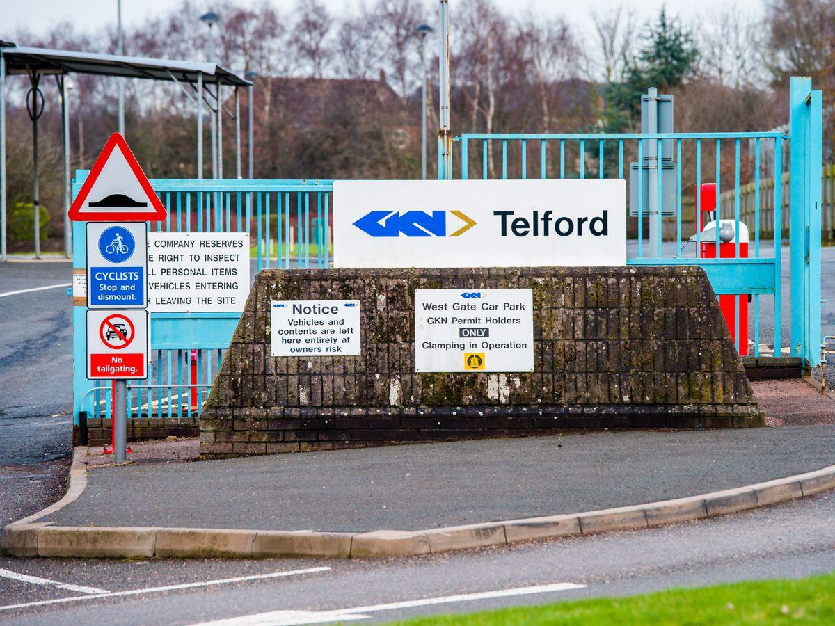 GKN's site in Telford